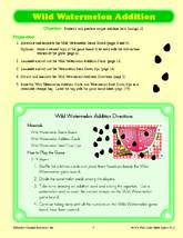 Wild Watermelon Addition and Subtraction Games