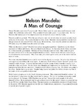Nelson Mandela: A Man of Courage